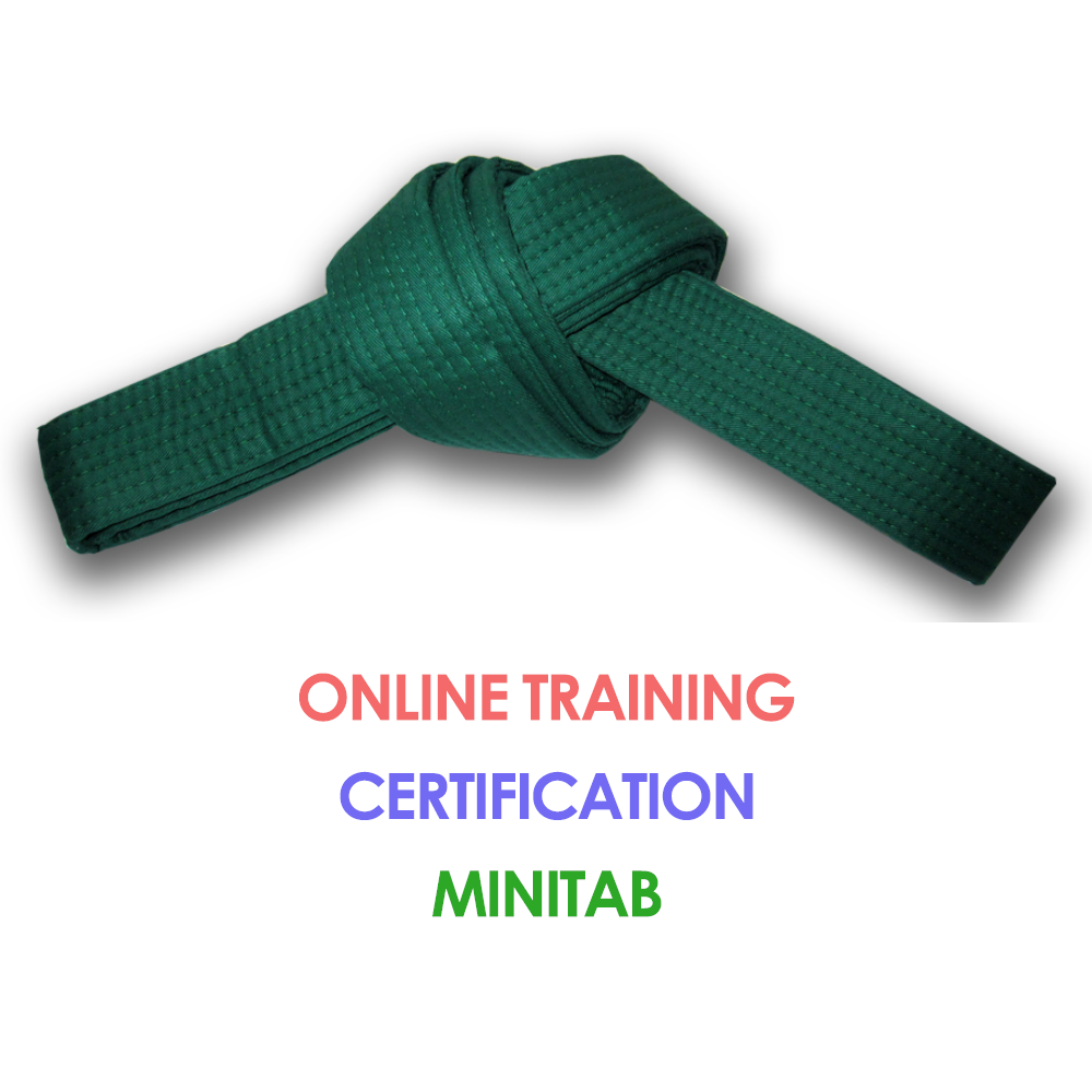 Lean Six Sigma Green Belt Online Training Minitab Six Sigma